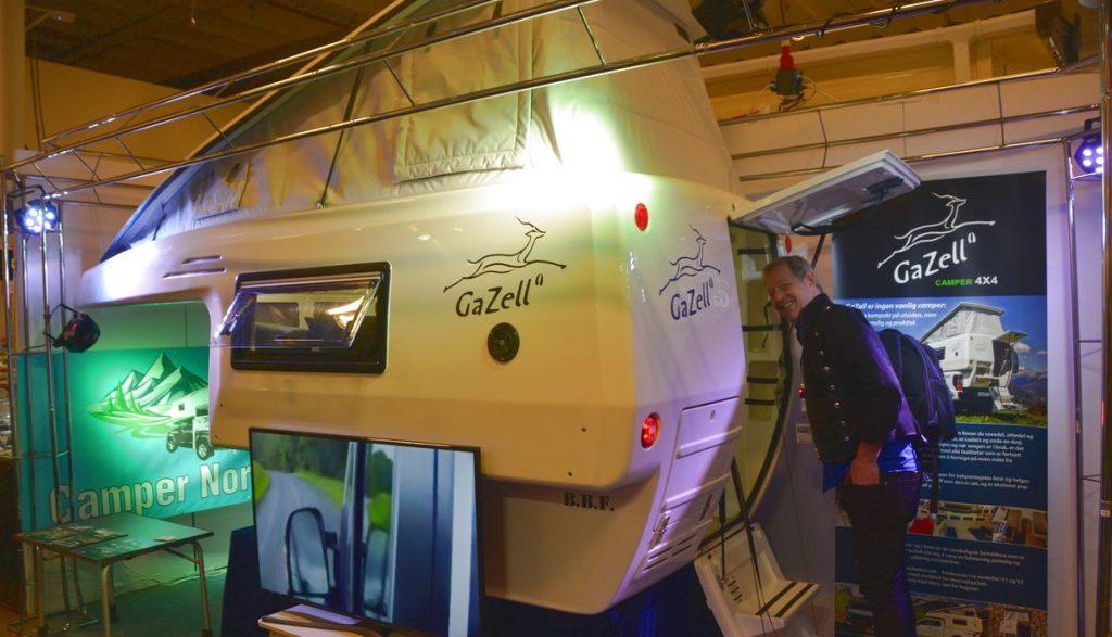 Pickup och camper - Gazell