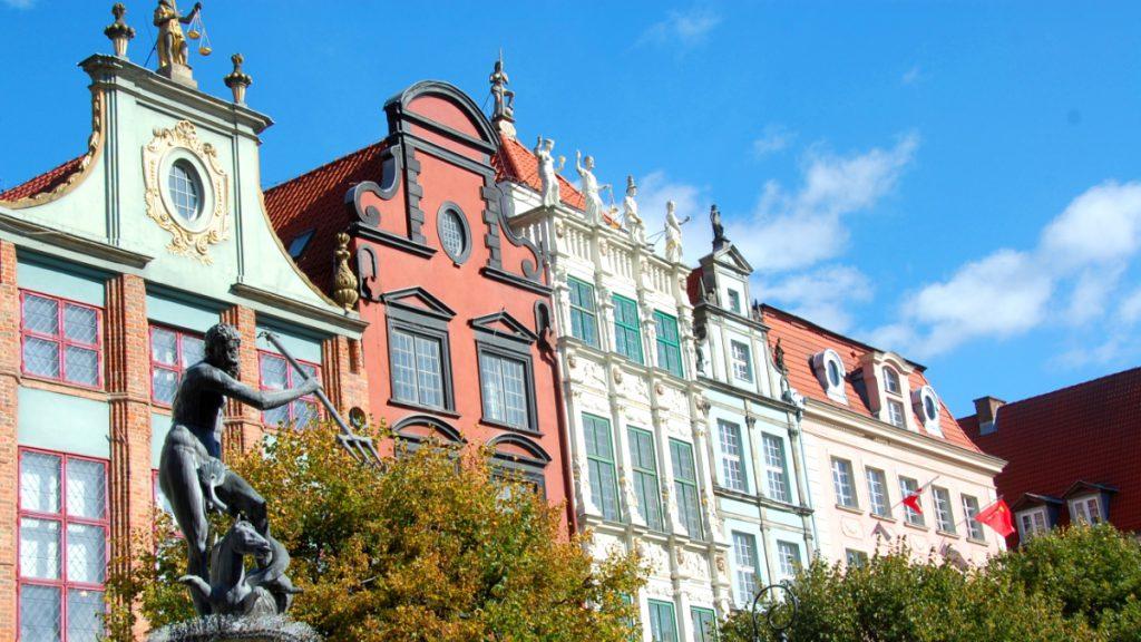 Gdansk och andra storstäder för påskresan