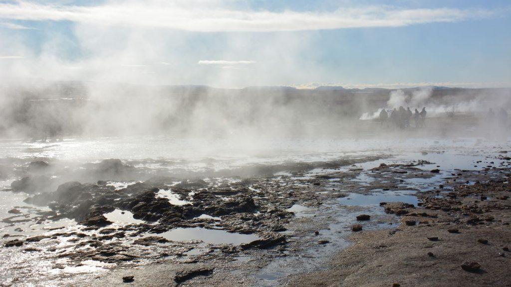 gejsrar på Island