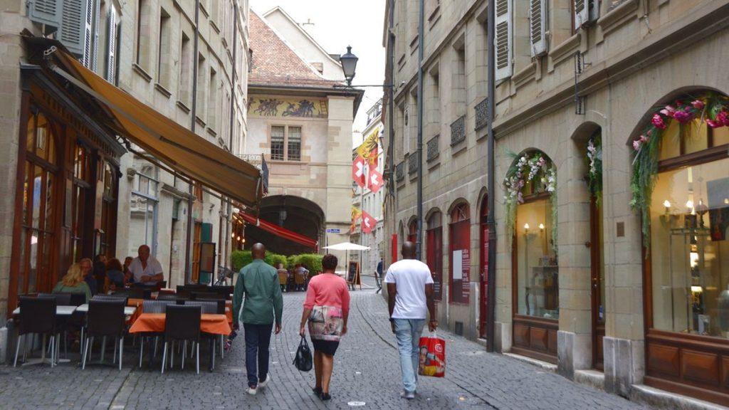 Geneve Gamla stan