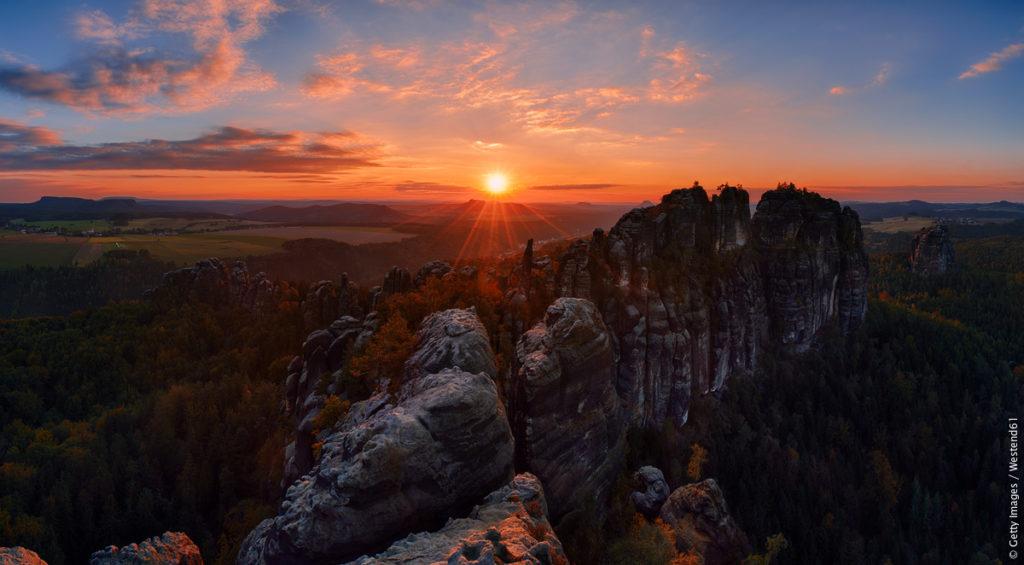 Naturområden i Tyskland - Sächsische Schweiz