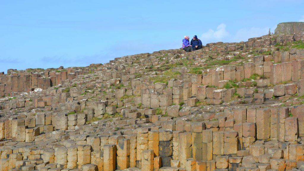 Naturen vid Giant's Causeway i Nordirland är magisk