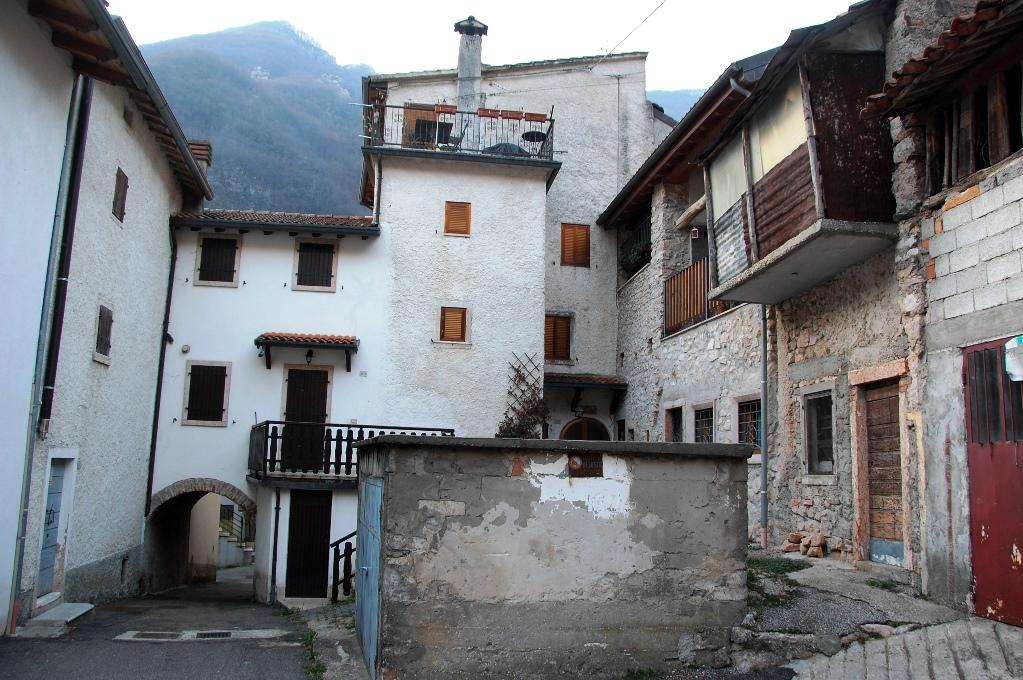 Många av husen i Giazza byggdes redan på 1600-talet