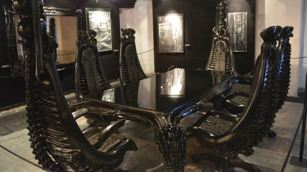 Gigermuseet med Alien