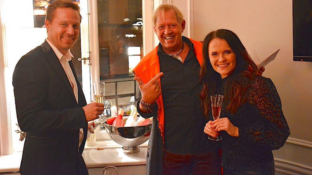 Juha-Matti och Anette Raunio från Glöet