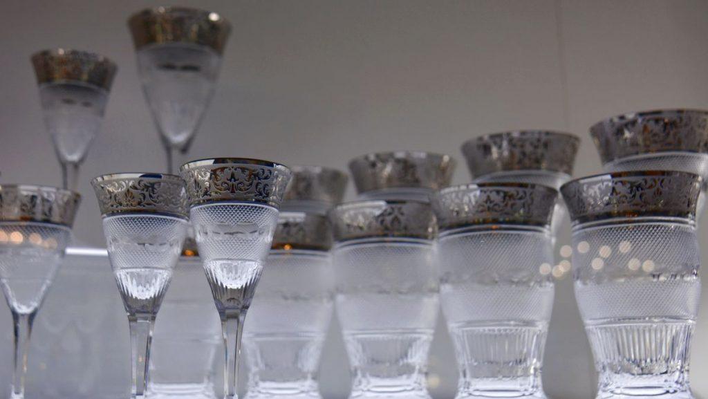 Glas på Moser Glasbruk