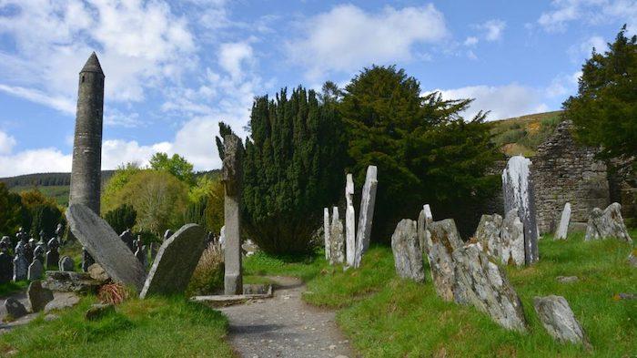Glendalough på Irland