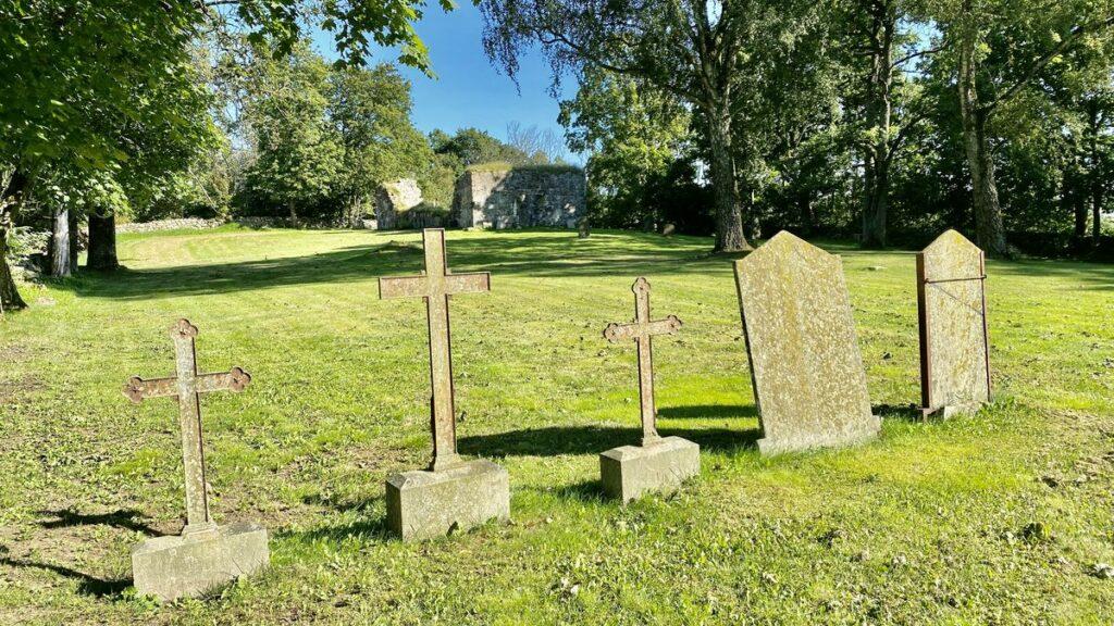 Göra i Varberg - Gödestads kyrkoruin