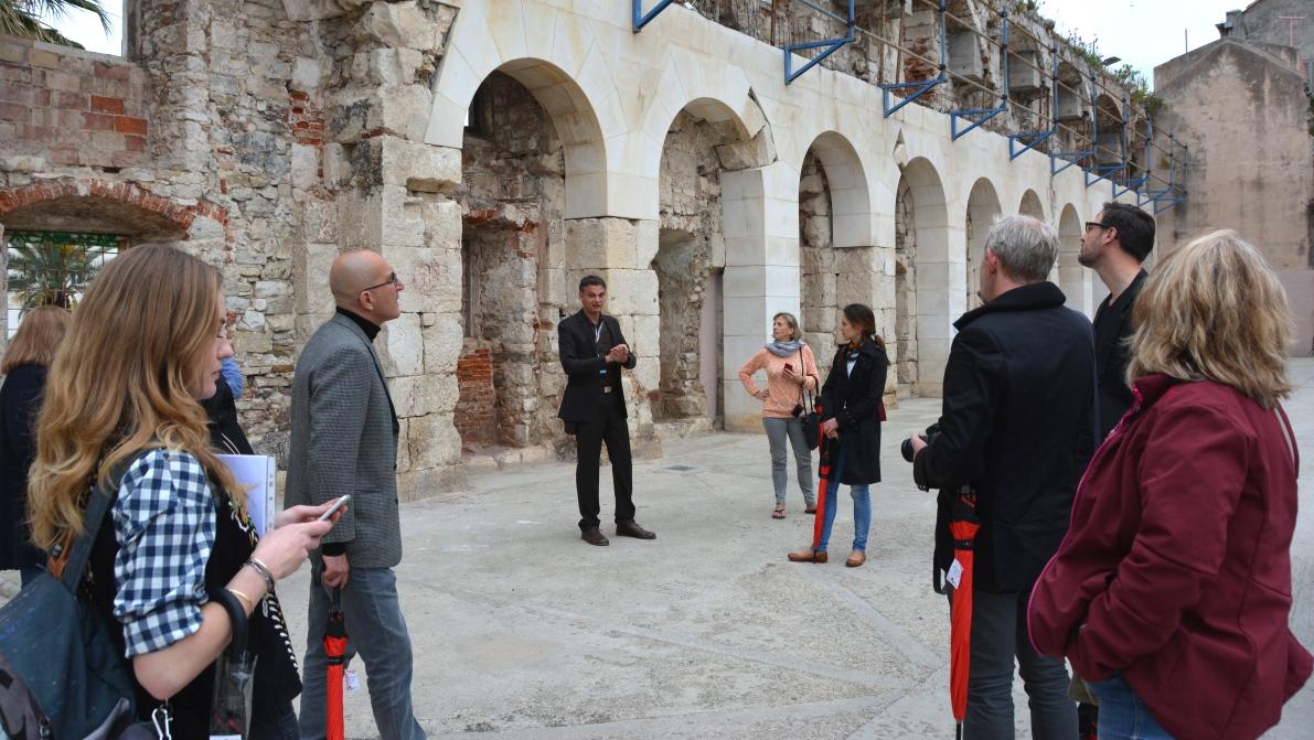 Guidning i Split för journalister och bloggare