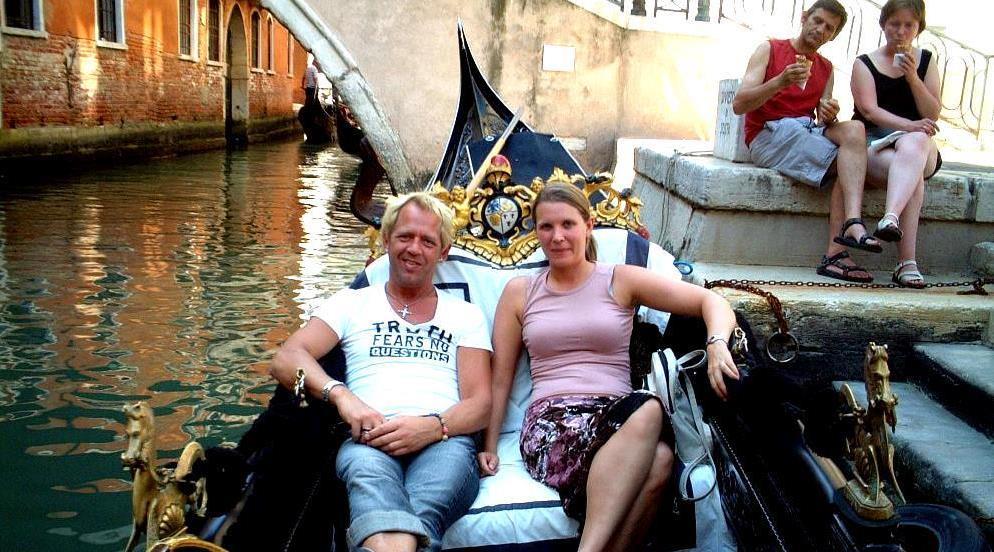 Gondol Venedig Italien