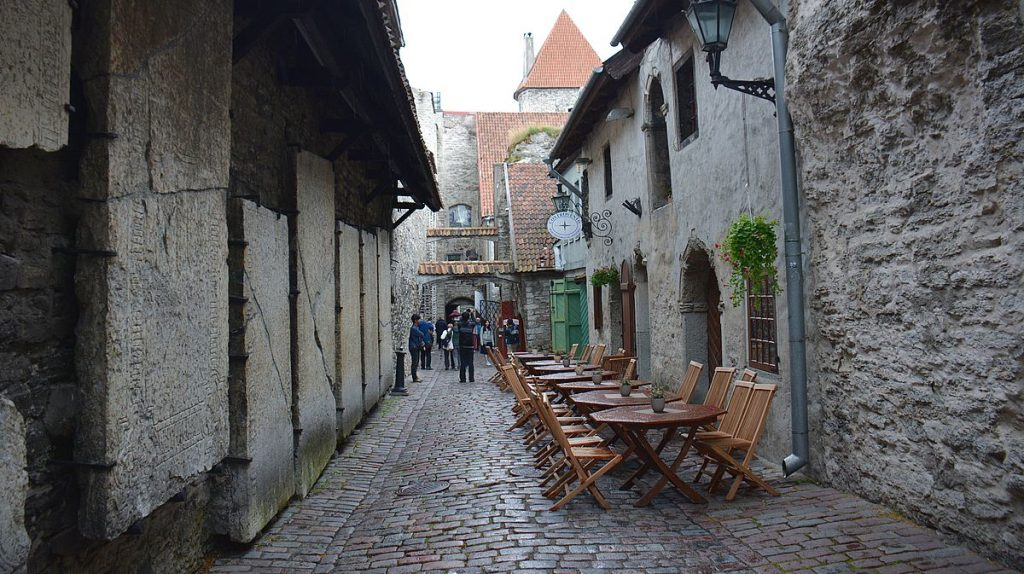 Gränder i Tallinn