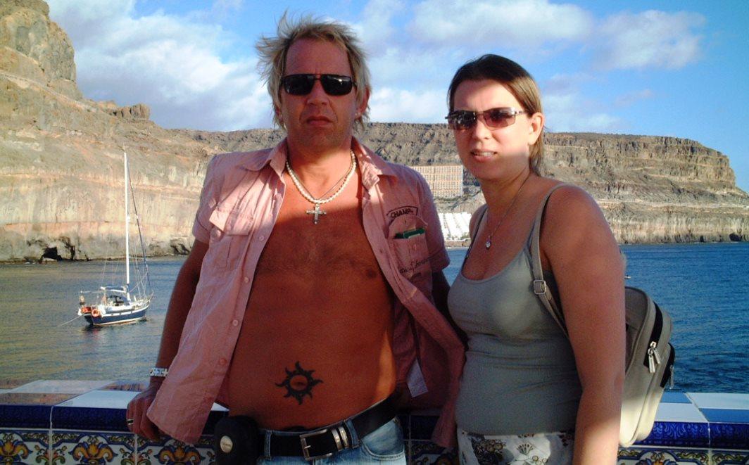 Peter och Helena på Gran Canaria julen