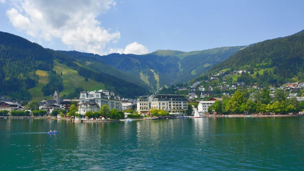 Grand hotel i Zell am See