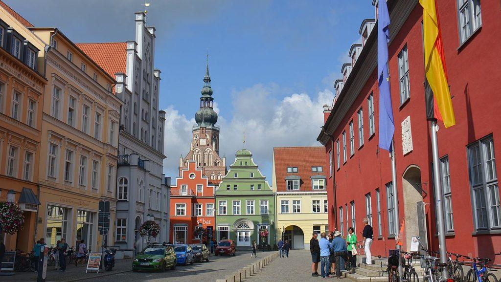 Greifswald i Tyskland