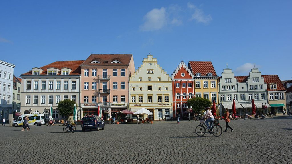 Torget i Greifswald