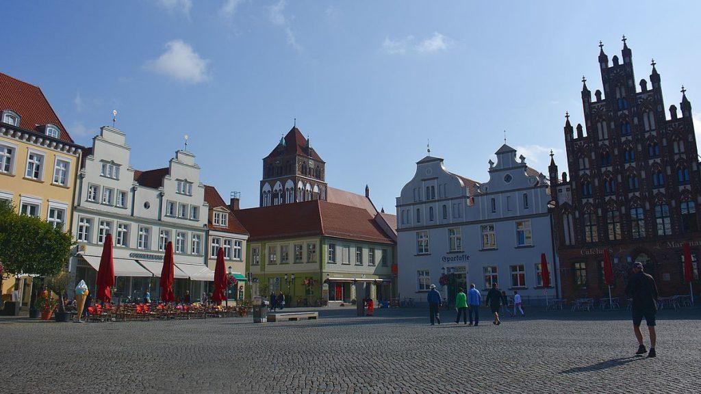 Greifswald square