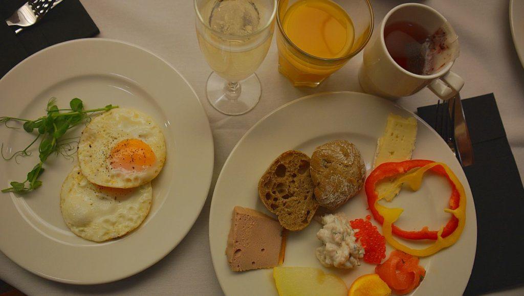 Grill frukost på Victoria I