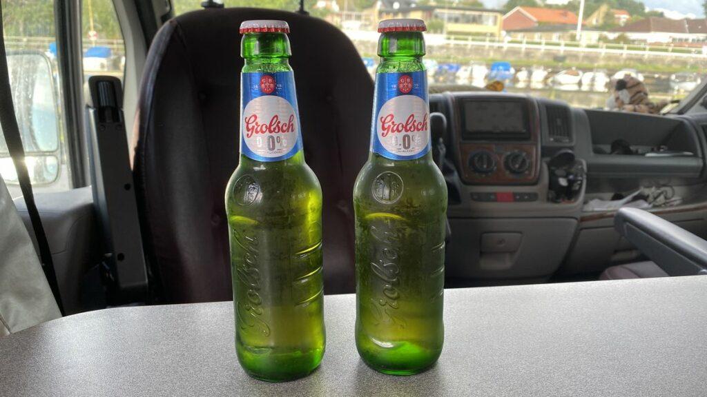 Alkoholfri öl test - Grolsch