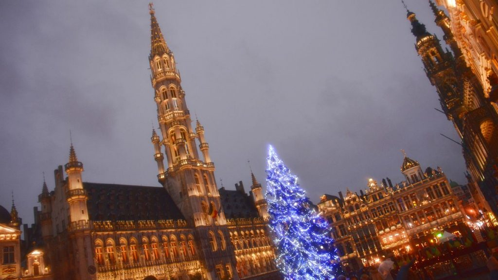 Grote Markt by night