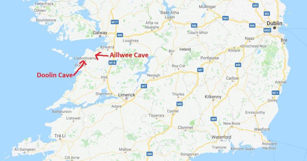 Grottor på Irland