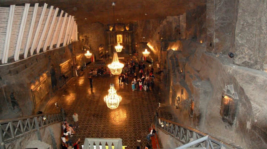 Unesco världsarv i Polen - saltgruva