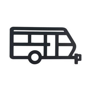 Grytunderlägg husvagn