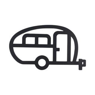 Grytunderlägg husvagn retro