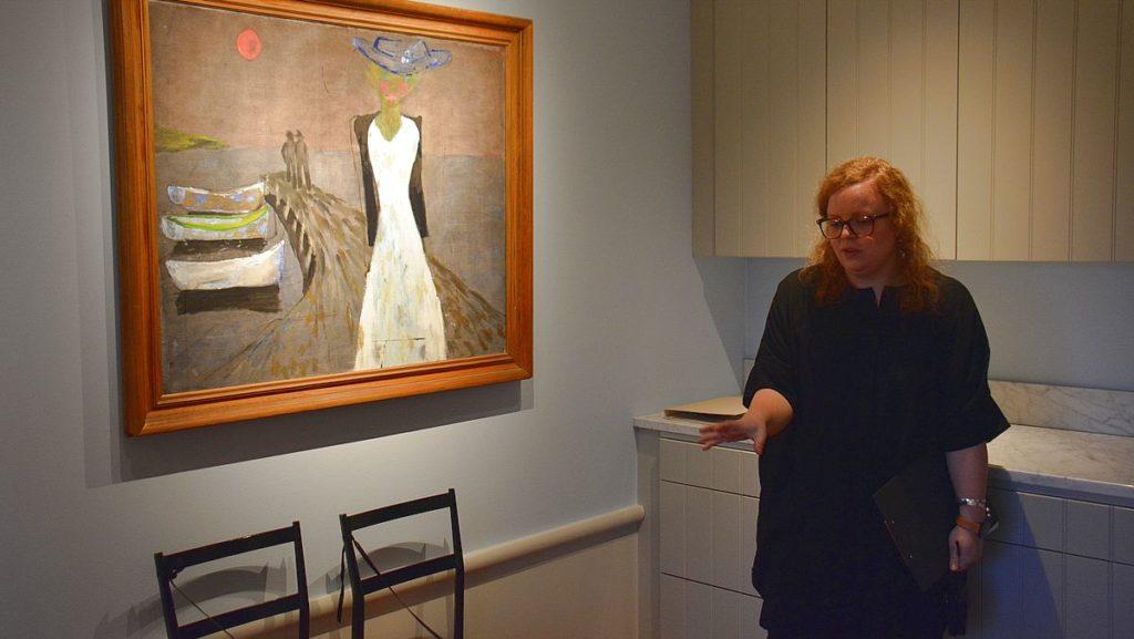 Guide i Sven-Harrys konstmuseum