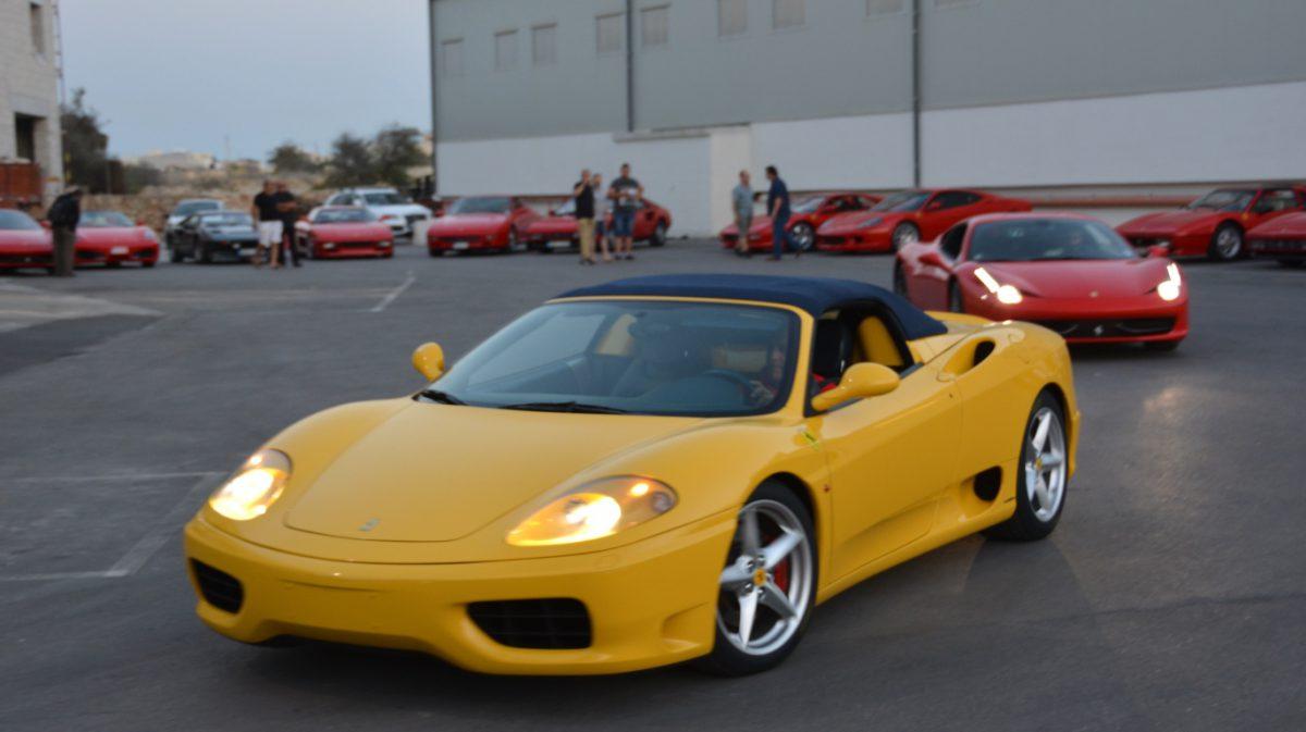 Gul Ferrari