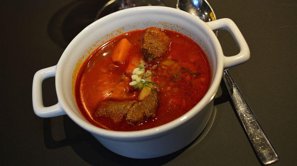 Ungersk mat - gulaschsoppa
