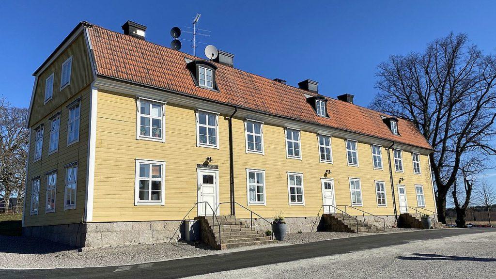 Hus vid Rydboholms slott