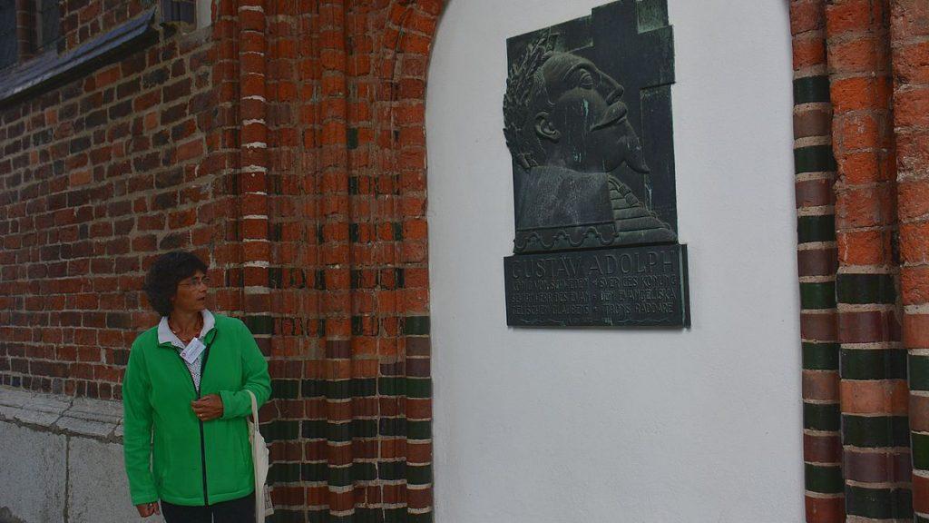 Gustav II Adolf i Greifswald i Tyskland