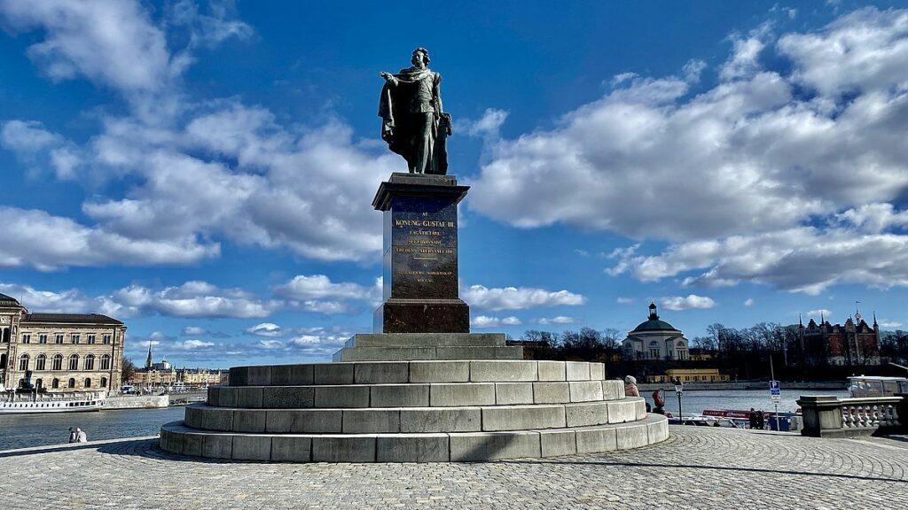 Sevärdheter i Gamla stan - Gustav III staty