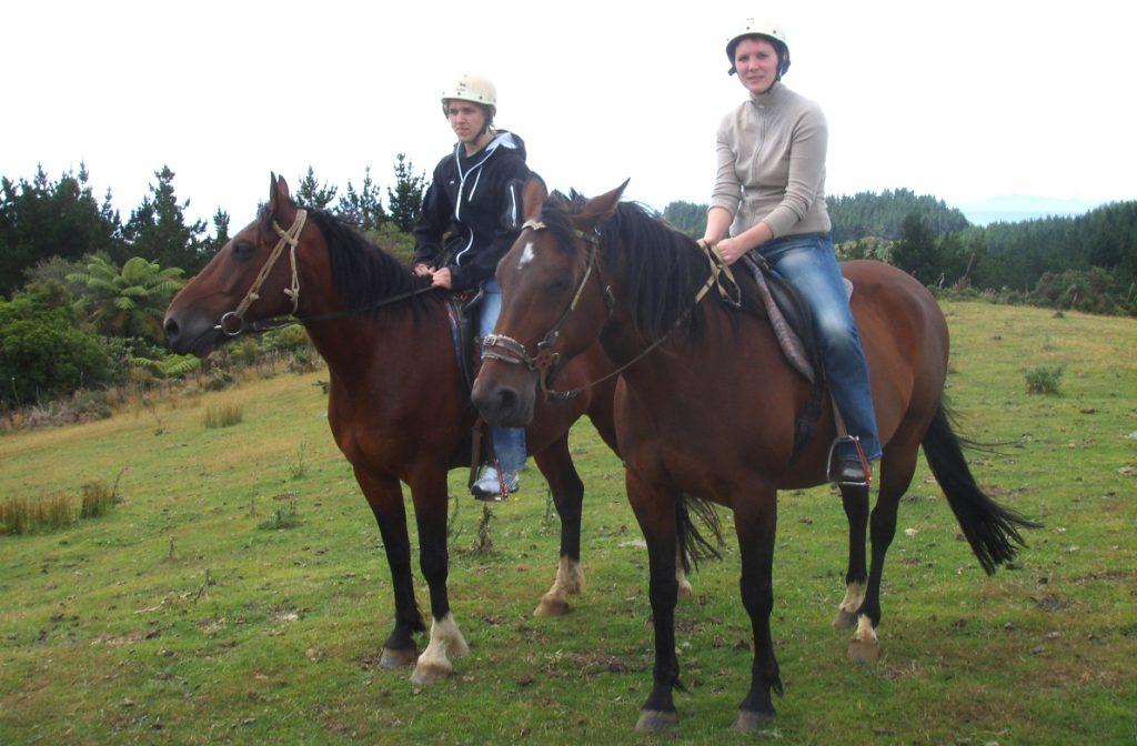 Hästridning på Nya Zeeland