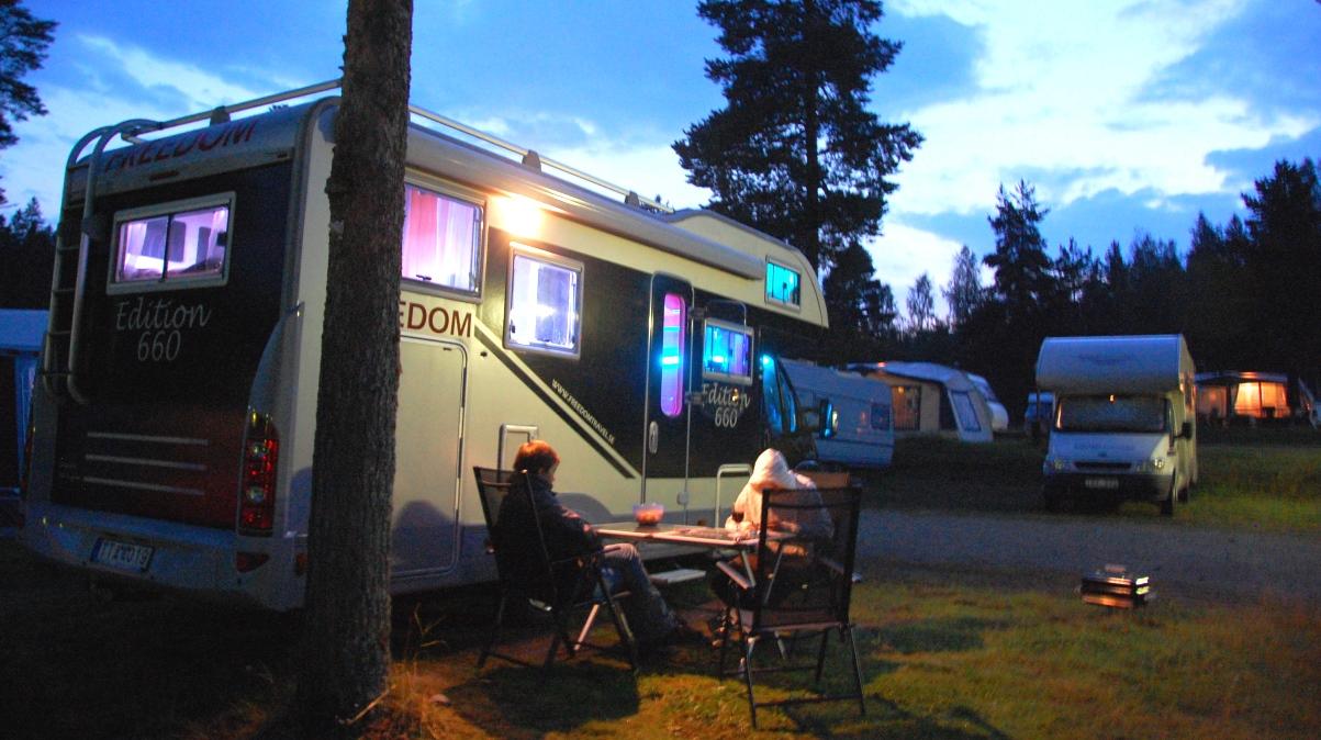 Höga kusten camping