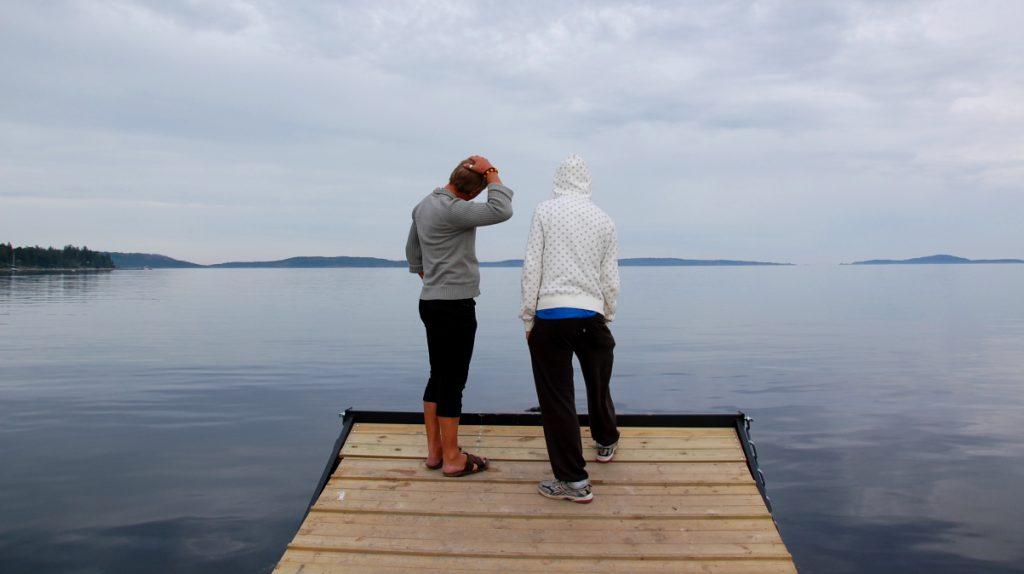 Höga kusten sjö