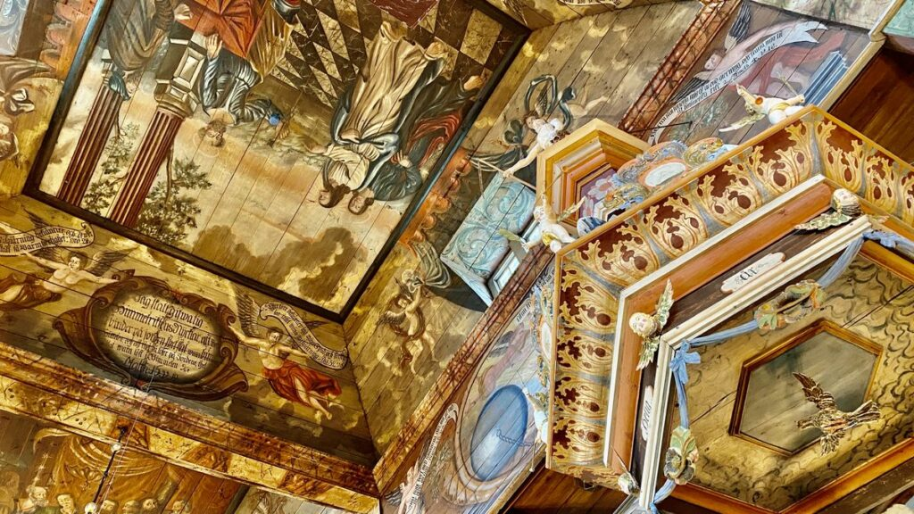 Habo kyrka målningar