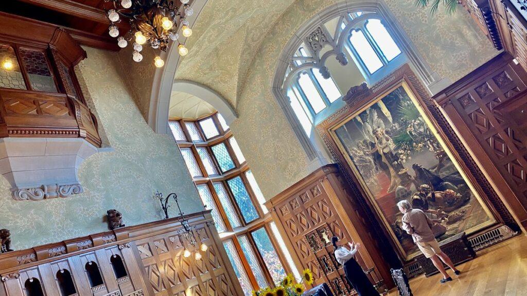 Att besöka Tjolöholms slott
