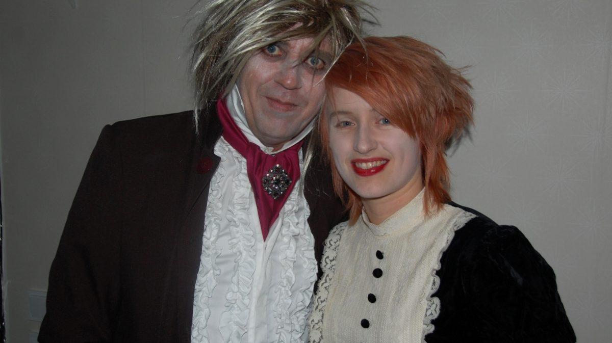 Halloweenfest med schlagertema