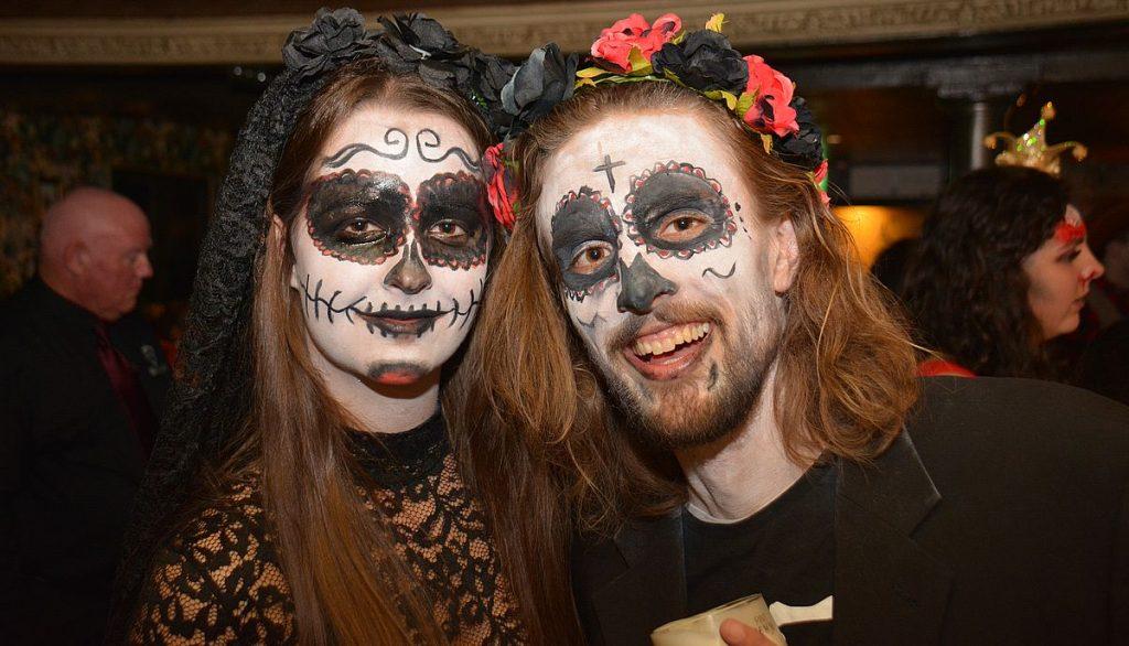 Halloweensminkning