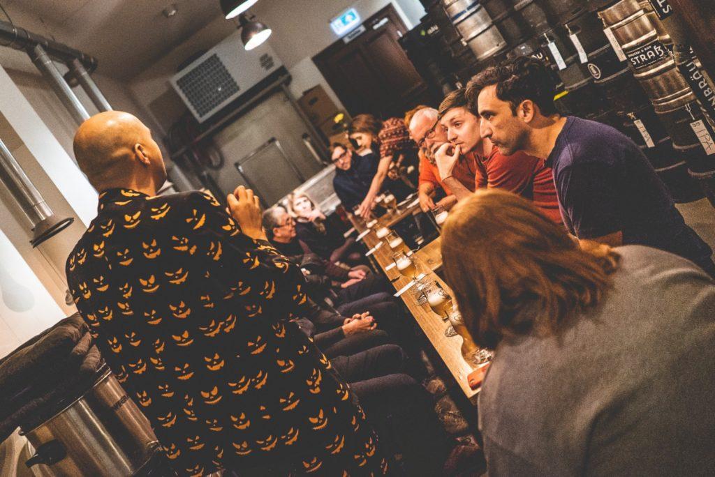 Öl i Tyskland - guidning på bryggeri