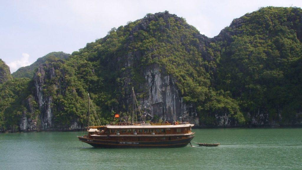 Båttur Vietnam