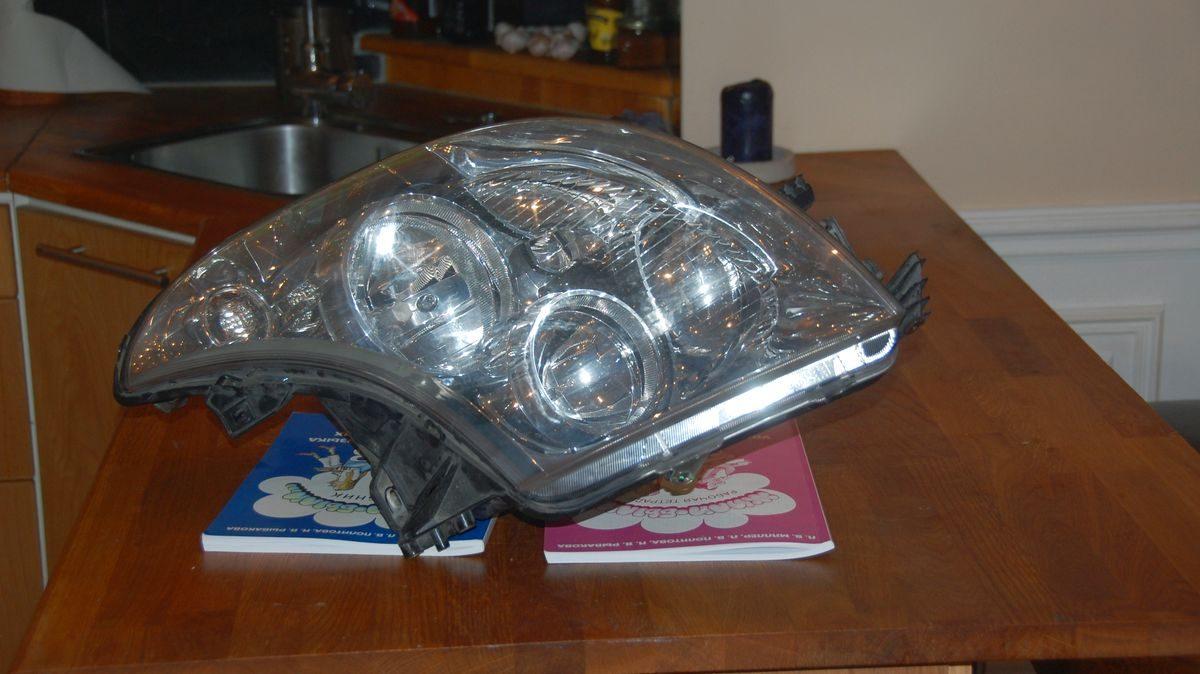 Halvljuslampa husbil