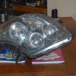 Byta halvljuslampa på husbil
