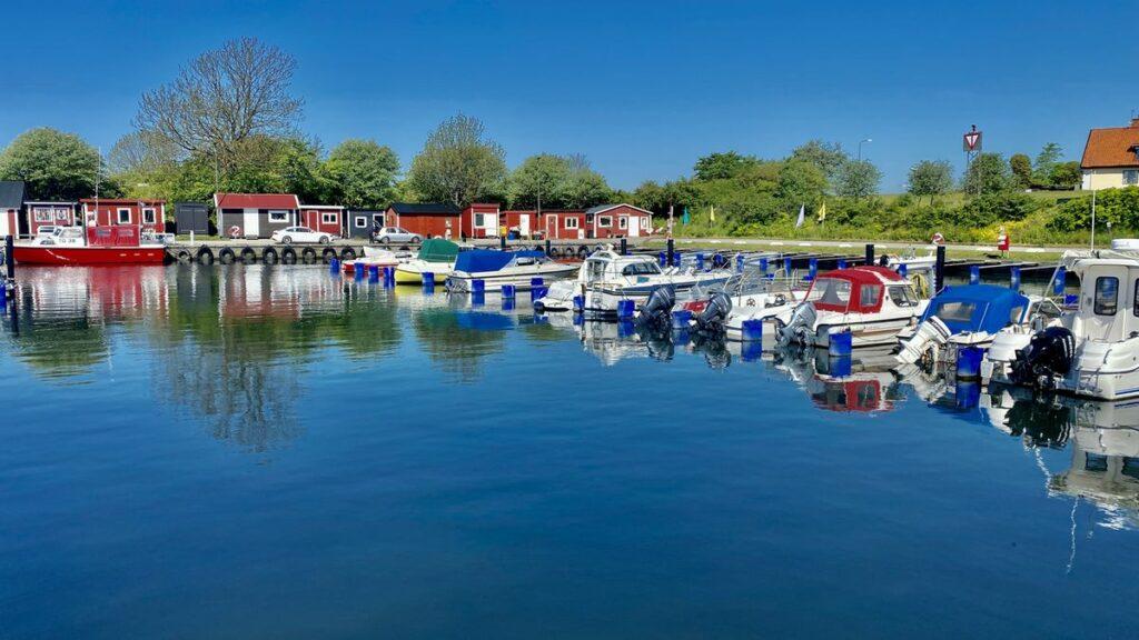 Båtar i Smygehuk - Sveriges sydligaste udde