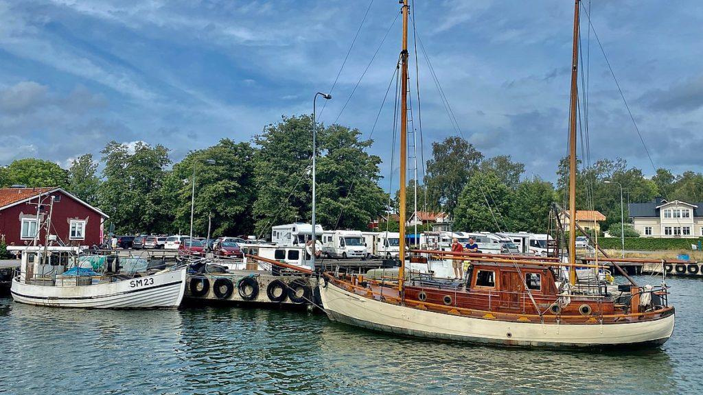 Hamnen i Grisslehamn