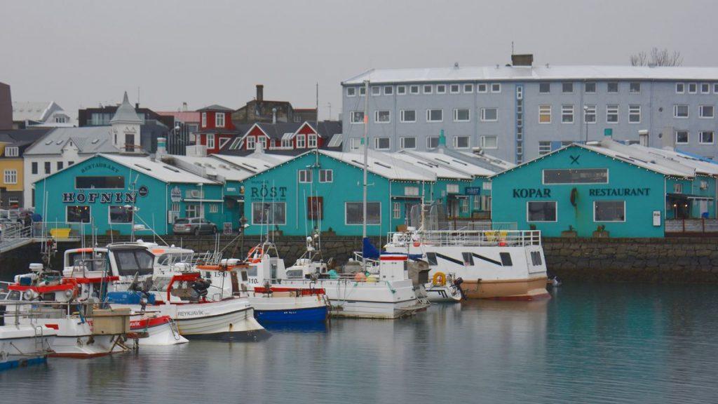 gamla hamnen Reykjavik