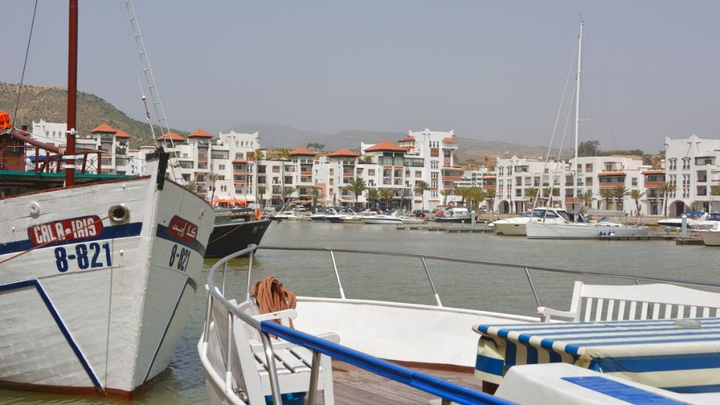 Hamnen i Agadir
