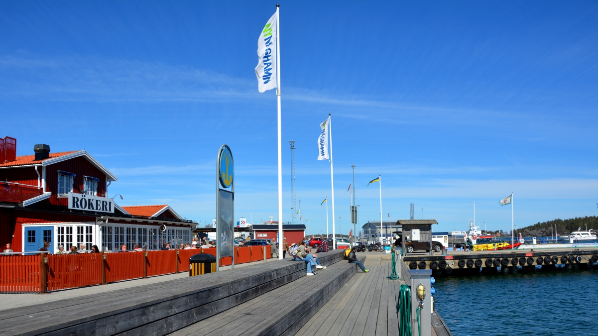 Hamnen i Nynäshamn