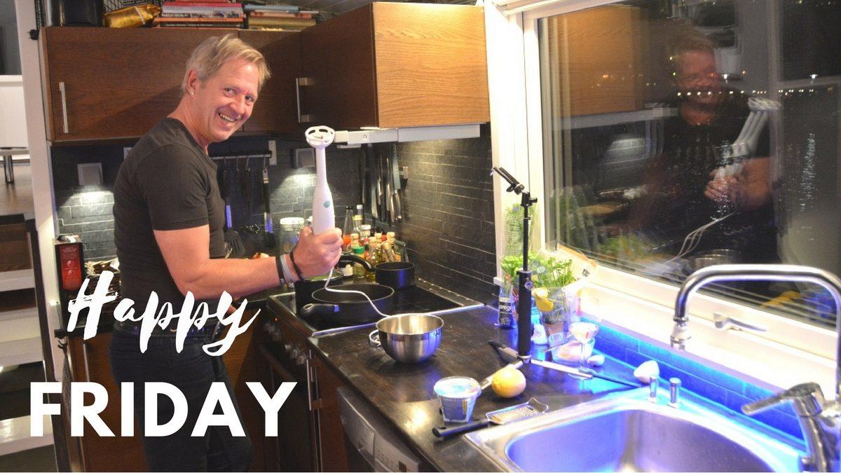 Peter lagar 3-rätters meny med skaldjur